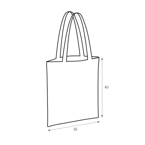 bolsas tela shopping grafico
