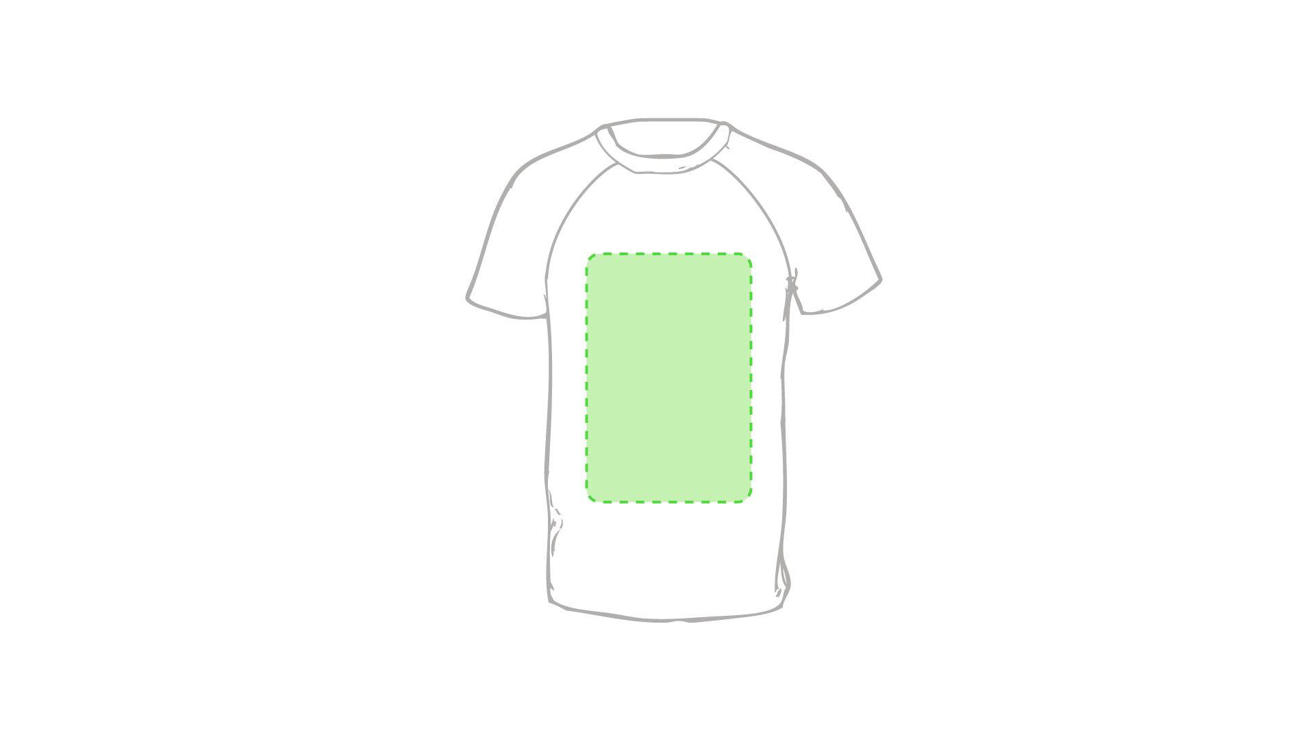 gráfico marcaje camisetas