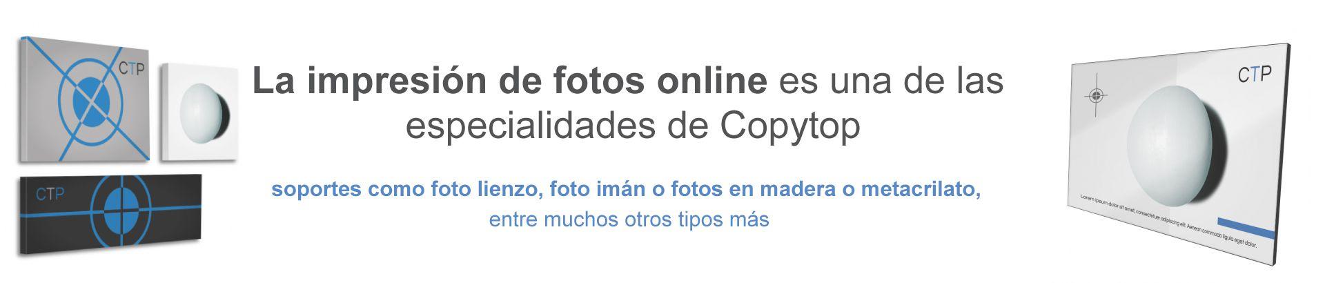 Impresión de fotos online