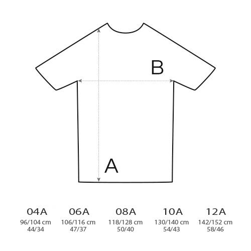 Gráfico camisetas niños
