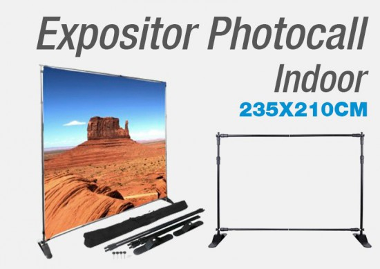 Expositor Photocall Indoor 235x210cm