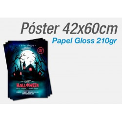 Posters Papel Gloss 200gr A2 42x60cm