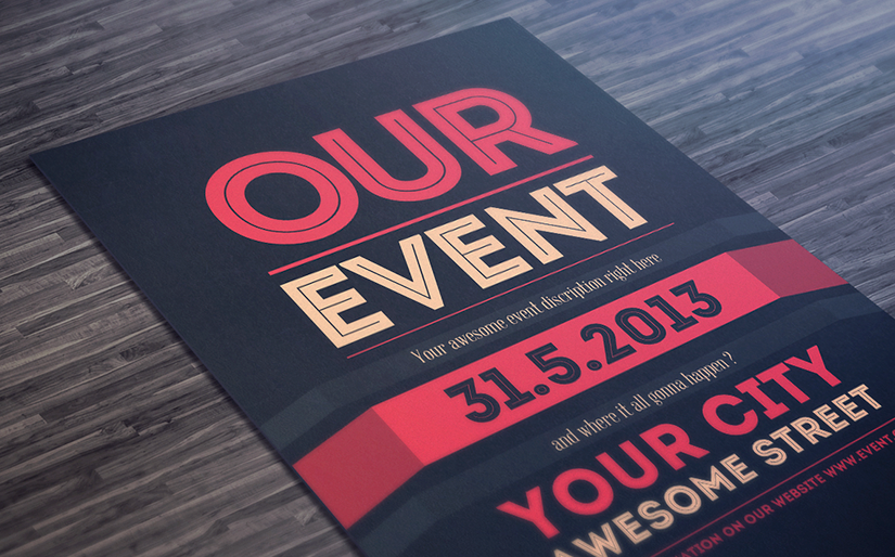 12 + 1 ideas y ejemplos de flyers originales